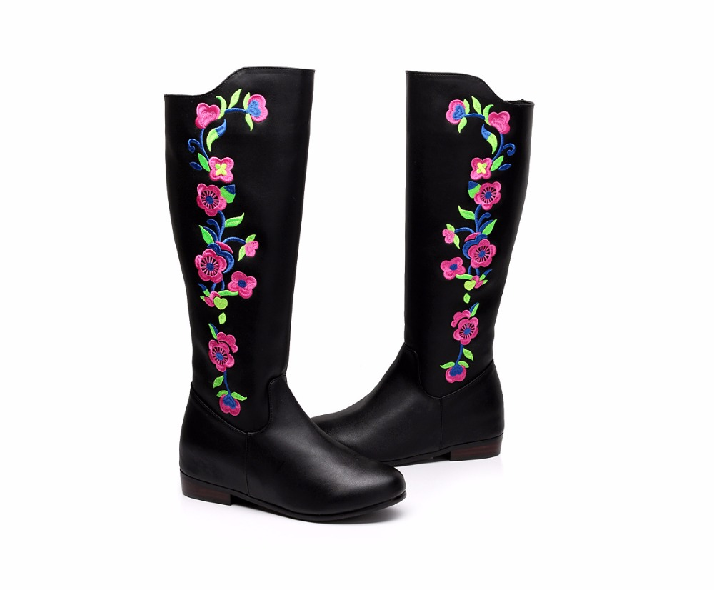 2017 winter new cashmere imported high-grade boots women's boots embroidered cotton boots 100g bag nicotinamide food grade 99% vitamin b3 usa imported