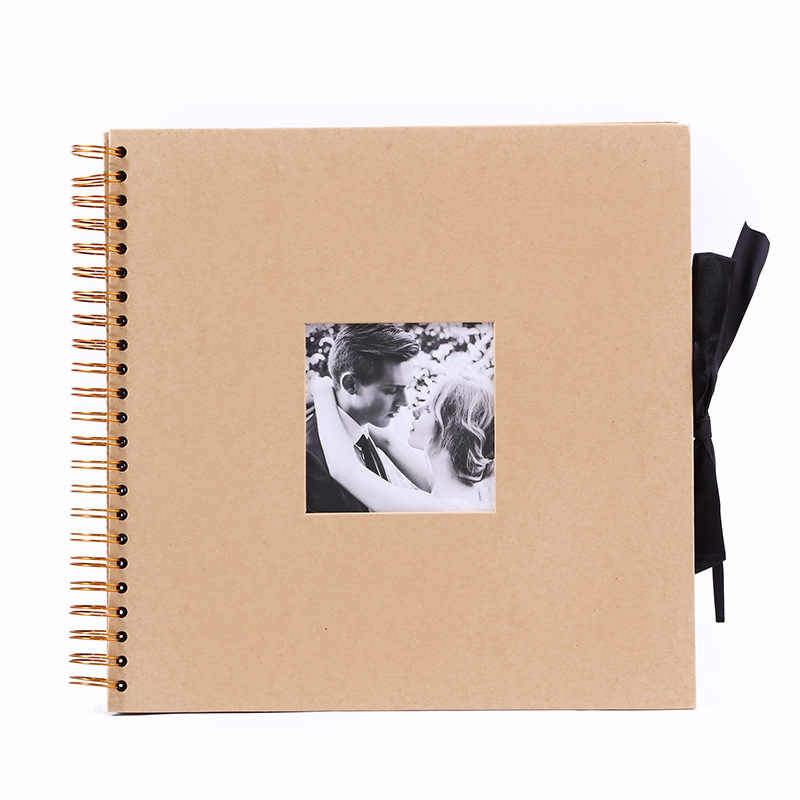 10 Inch 50sheets DIY Scrapbook Photo Album  Valentines Day Gifts Wedding Guest Book Craft Paper Anniversary Travel Memory Album