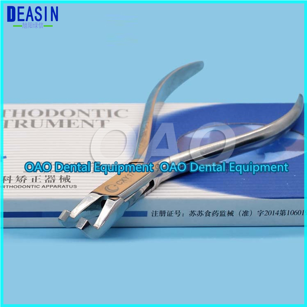 Good quality Dental Orthodontic bracket removal pliers stainless steel orthodontic tool pliers posterior teeth high quality dental edge forming pliers orthodontic material orthodontic tool dental orthodontic pliers