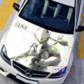 """Автомобильные Аксессуары Японских Автомобилей Наклейки Надписи 3D Аниме Игры """"Наблюдения"""" Гэндзи Ниндзя Капот Наклейки Авто Крыши Камуфляж Винил"""