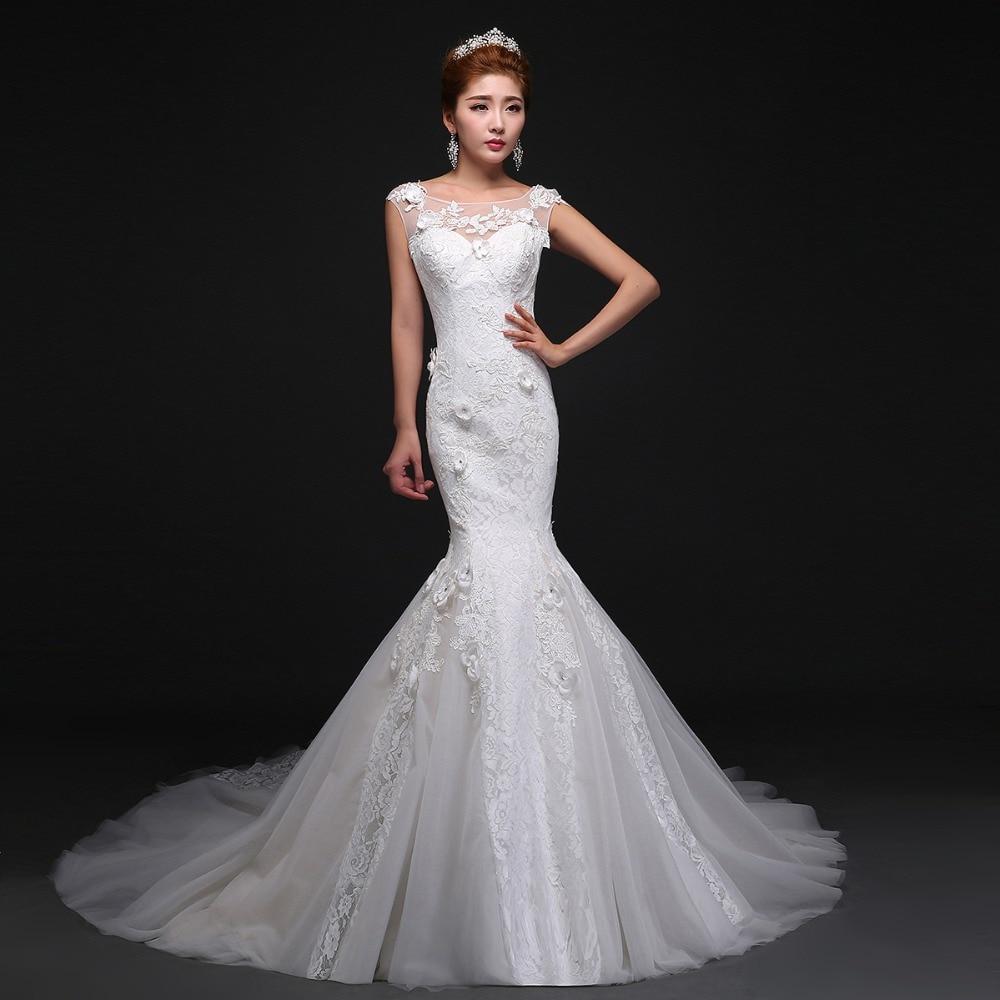 New Design Wedding Gowns: Robe De Mariage 2016 New Design Sexy Mermaid Wedding