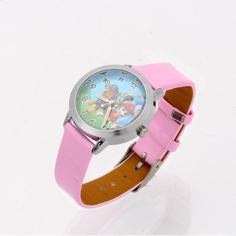 Hot Fashion 3D Cartoon Watch Kids Children Wrist Watches Girl Leather Strap Students Quartz Watch Clock Cute Montre Enfant Gifts