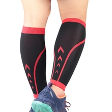Sports Compression Leg Sleeve Antiskid Basketball Football Calf Support Protector Socks Running Shin Guard Pain Relief