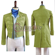Custom Made Cinderella Prince Charming Costume Luxury Uniform Suit Outfit For Dance Party Adult Men Cosplay Costume