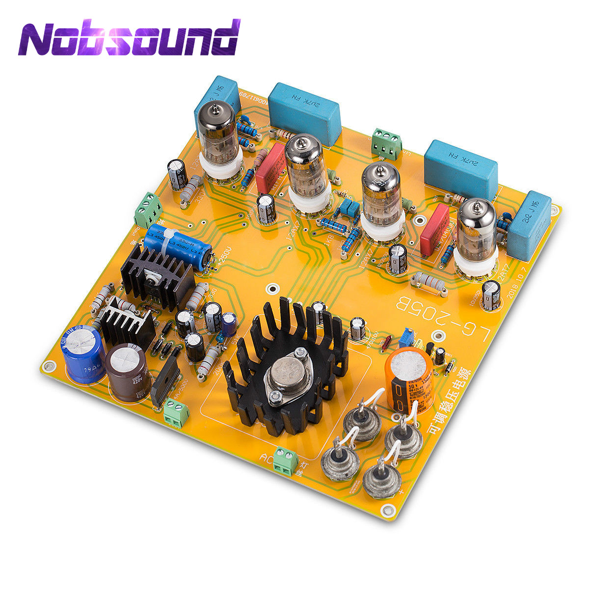 Nobsound HiFi Stereo 6N1+6N2 Vacuum Tube Pre-amplifier Board Preamp Inspired by Matisse