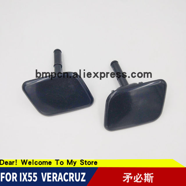 US $19 0 |Bonnet Washer Nozzle For Hyundai ix55 Veracruz 98680 3J000 98690  3J000 Head Lights Washer Nozzle Cover-in Windscreen Wipers from Automobiles