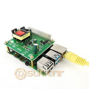 Image 2 - DSLRKIT 5V 12V PoE HUT Raspberry Pi 4 4B 3B + 3B Plus 3.5in Festplatte LED 26Watt