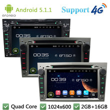 Quad Core Android 5.1.1 Car DVD Video Player Radio Stereo DAB+ 3G/4G WIFI For Opel Astra Antara Vectra Corsa Zafira Combo Vivaro