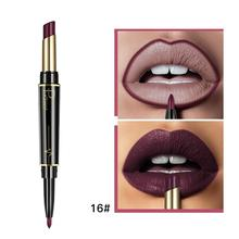 Pudaier Two-headed Lipstick Lipliner Matte Rotating Non-stick