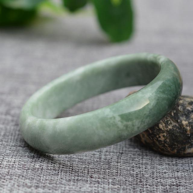 Bracelet En Jade De Birmanie
