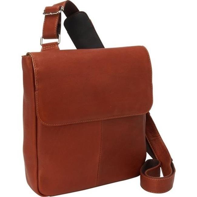Piel Leather 3009 Tablet Cross Body Bag - Saddle ecotime relogio 3009