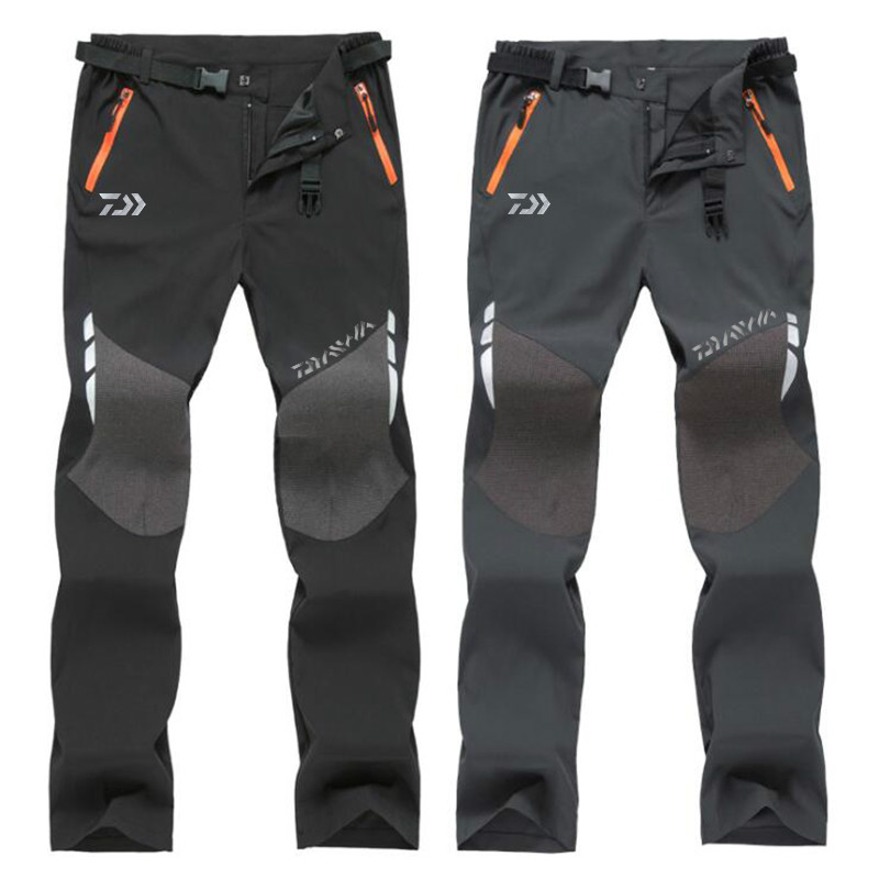 DAIWA New Summer Hot Season Hiking Trekking Fishing Camping Climb Run Trousers Plus Size Oversized Waterproof Outdoor Pants