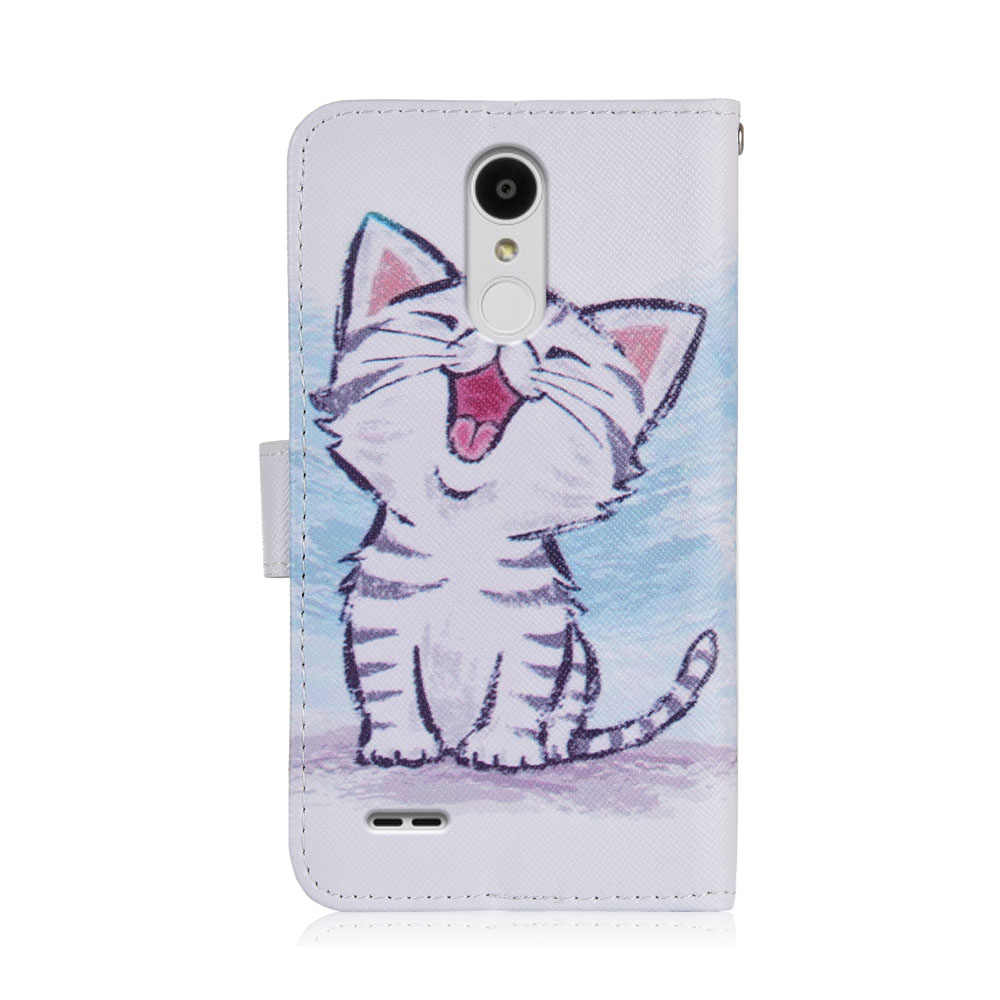 For LG Tribute Empire case cartoon Wallet PU Leather CASE Fashion Lovely Cool Cover Cellphone Bag Shield