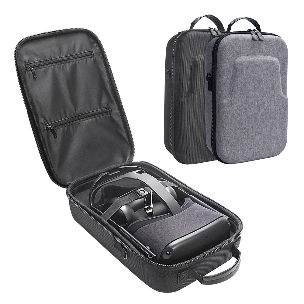 2019 New Hot EVA Hard Travel Protect Box Storage Bag Carrying Cover Case for Oculus Quest Virtual Reality System and Accessories 1