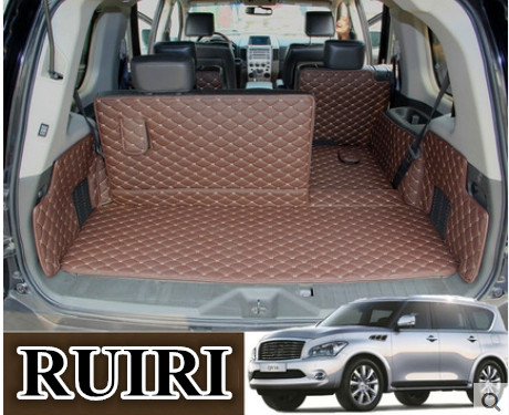 Good! Special trunk mats for Infiniti QX56 7 8 seats 2010-2004 waterproof boot carpets cargo liner for QX56 2009,Free shippingGood! Special trunk mats for Infiniti QX56 7 8 seats 2010-2004 waterproof boot carpets cargo liner for QX56 2009,Free shipping