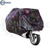L xl xxl xxxl 유니버설 카 모 오토바이 오토바이 커버 위장 방수 방진 자외선 방지 커버 모터