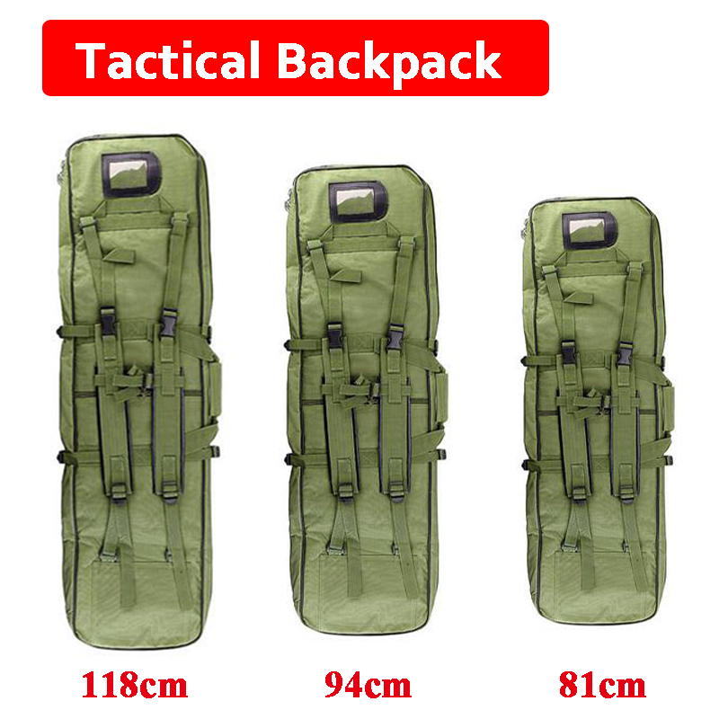 81cm / 95cm / 118cm Tactical Airsoft Rifle Gun Holsters Square Gun Case Hunting Rifle Gun Carry Shoulder Bag Outdoor Sport Bag blk tree leaf sand hunting tactical rifle gun bag 1000d oxford fabric airsoft gun case shoulder bag heavy duty gun carrying bag