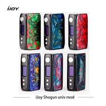 Электронная сигаретная коробка с двойным полимерным модулем iJoy Shogun Univ 180W с двумя батарейками Vape Mod VS squonk Mech Mod Voopoo Drag 2 Mod Box