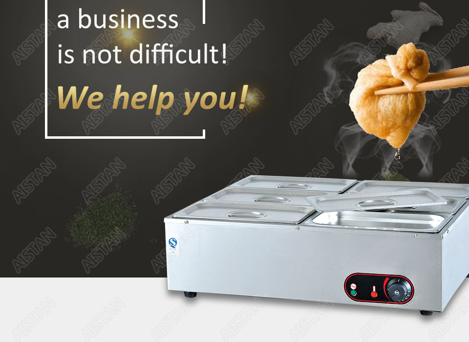 EH1A electric bain marie food warmer machine for hotel and restaurant 3