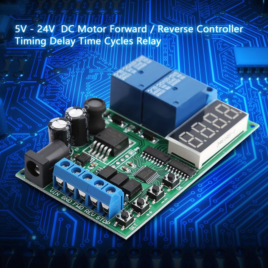 Dc  Ac Motor Controller Board 5v 24v Motor Forward Reverse