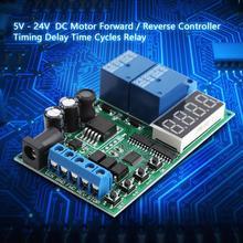 DC/AC Motor Controller Board 5V - 24V Forward  Reverse Electronic / Time Relay