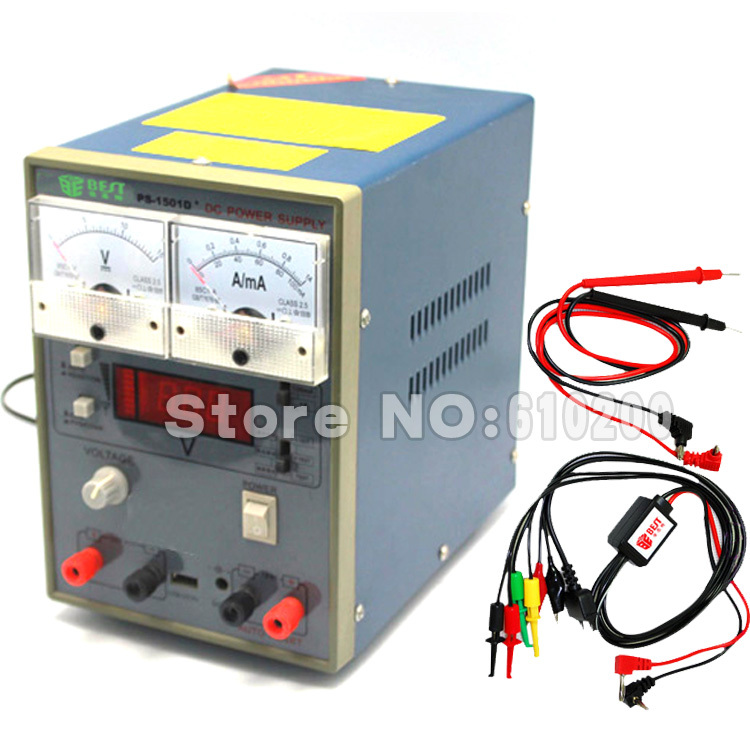 Free shipping Regulated DC Power Supply Mini mobile phone repair DC power supply 0-15V ,0-1A (A to MA) портмоне мужское кожаное naijie nj605