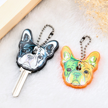 Silicone Bulldog Dog Key Cover Women Accessories