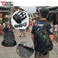 Brand New Large Laptop Backpack Waterproof Luggage Shouler Bags Motorcycle Reflective Touring Riding Top Cases Motorbike Bags