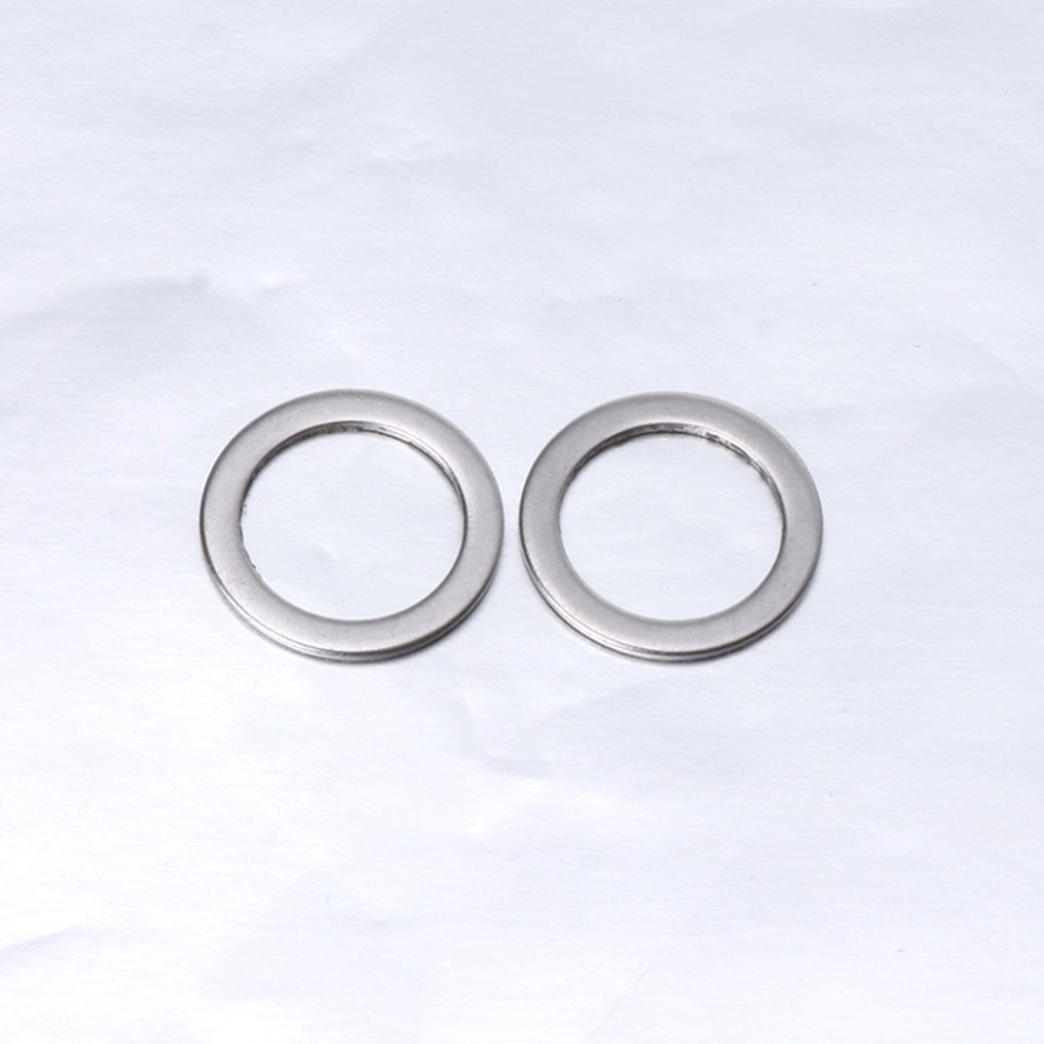 10Pcs Bicycle Pedal Spacer Crank Cycling Bike Stainless Steel Ring Washers TC