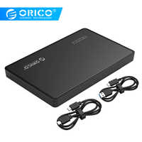 ORICO HDD Case 2.5 inch SATA 3.0 to USB 3.1 Gen2 SSD Case For Type C Super High Speed Hard Disk Drive External HDD Enclosure