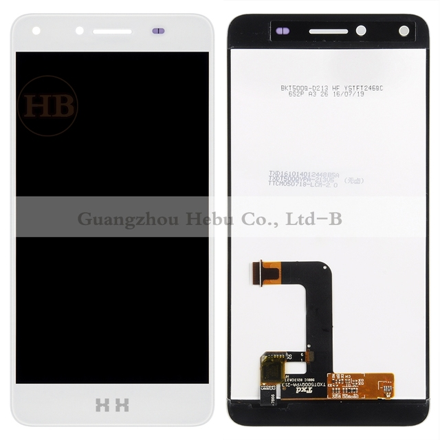 "30% DISCOUNT 1pcs NEW 5.0"" Touch Screen Digitizer Assembly HH Y5-2 LCD For Huawei Y5II Y5-2 CUN-U29 LCD Display with tools"