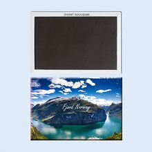 Fjord region summer  Norway 22712, Souvenirs of Tourist Landscape gifts for friends Magnetic refrigerator
