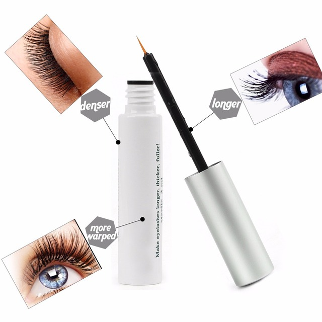 US Stock Herbal Eyelash Growth Treatments Liquid Serum Enhancer Mascara Eye Lash lengthening Thicker Curling Eye Makeup Tools 2