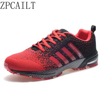Big Size 48 męskie buty do biegania buty sportowe lekkie oddychające sneakersy damskie wygodne trening sportowy obuwie tanie i dobre opinie ZPCAILT Unisex LIFESTYLE Stabilność Hard court Zaawansowane Dla dorosłych Wysokość zwiększenie Masaż latex Mesh (air mesh)
