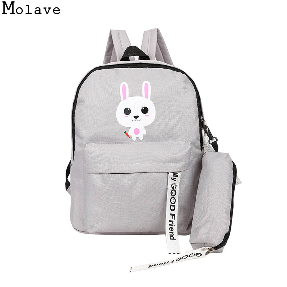 2c2bdec83d3 US $9.26 31% OFF|MOLAVE Cute Adult Backpack Teenage Girls Bogs School  Backpack Bag Cartoon Students Bags backpacks for teenager Mochila  1.SEP.19-in ...