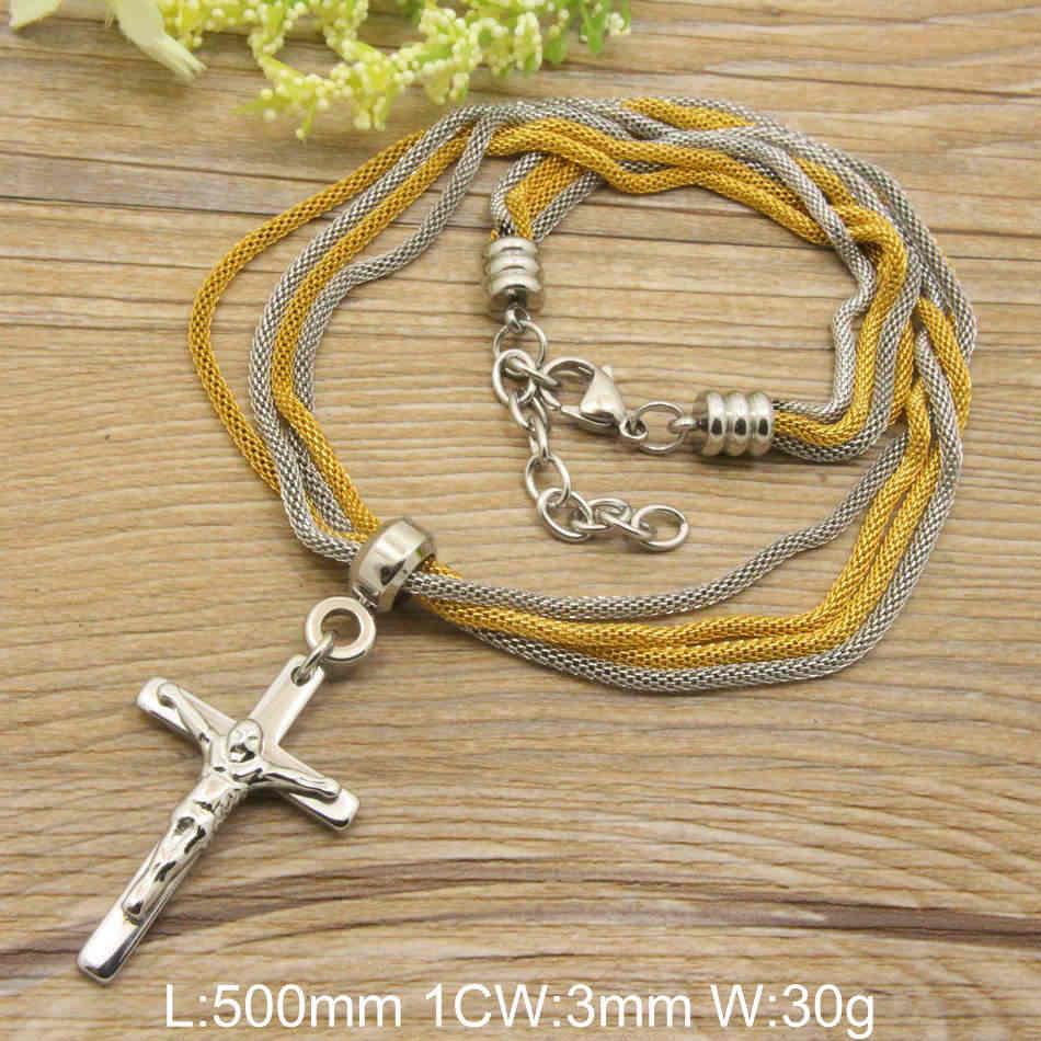 Gorące akcesoria hurtownia biżuterii ze stali nierdzewnej moda romantyczny naszyjnik łańcuch dla kobiet NEIADBCA
