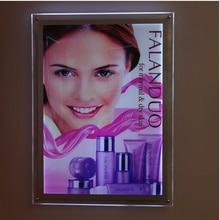 A3 односторонний настенный плакат с подсветкой Дисплей Панель фотографии и фотографии Рамки для агентов по недвижимости