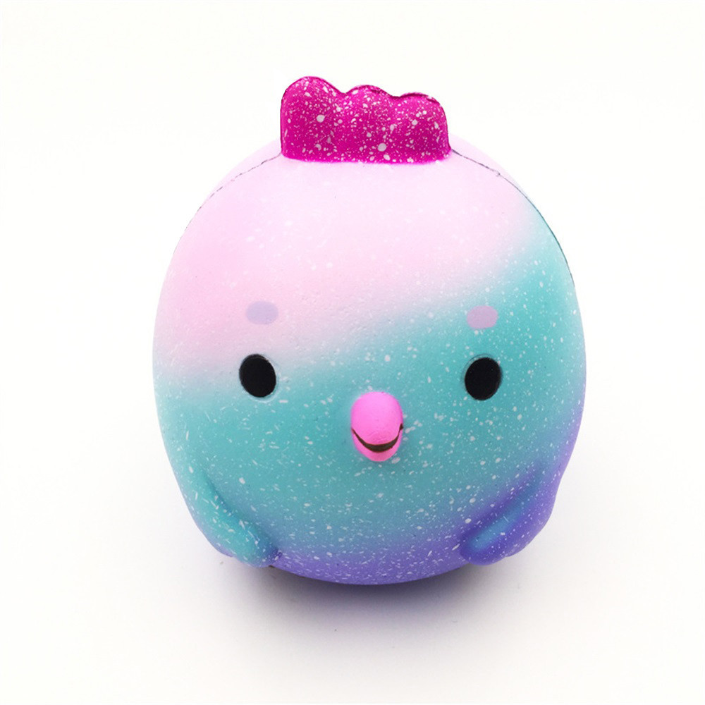 Squeeze Toys Toys & Hobbies Relax Toy 10cm Bigsquishy Cute Chicken Baby Squeeze Slow Rising Cream Scented Decompression Cure Toy Skuishy Animales D301228