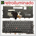 Испанская клавиатура с подсветкой для Lenovo IBM Thinkpad X230S X240 X240S X250 X260 0C44711 X240I X260S X250S X270 01EP008 SP Latin LA