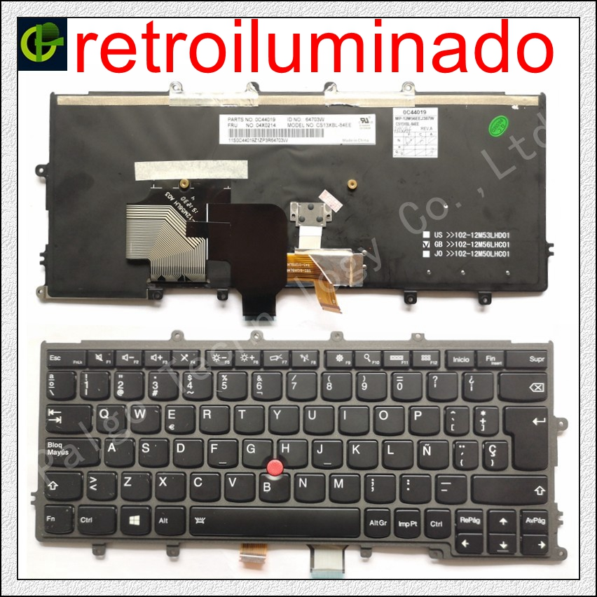 Backlit teclado espanhol para Lenovo IBM Thinkpad X230S X240 X240S X250 X260 0C44711 X240I X260S X250S X270 01EP008 SP Latina LA