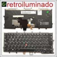 Spagnolo tastiera retroilluminata per Lenovo IBM Thinkpad X230S X240 X240S X250 X260 0C44711 X240I X260S X250S X270 01EP008 SP Latino LA