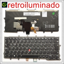 Spanish backlit keyboard for Lenovo IBM Thinkpad X230S X240 X240S X250 X260 0C44711 X240I X260S X250S X270 01EP008 SP Latin LA