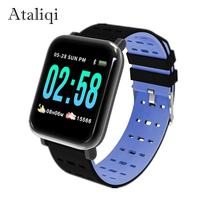 Ataliqi New Good Watch Coronary heart Price Monitor Sport Health Tracker Sleep Monitor Waterproof Sport Smartwatch Band For Ios Android