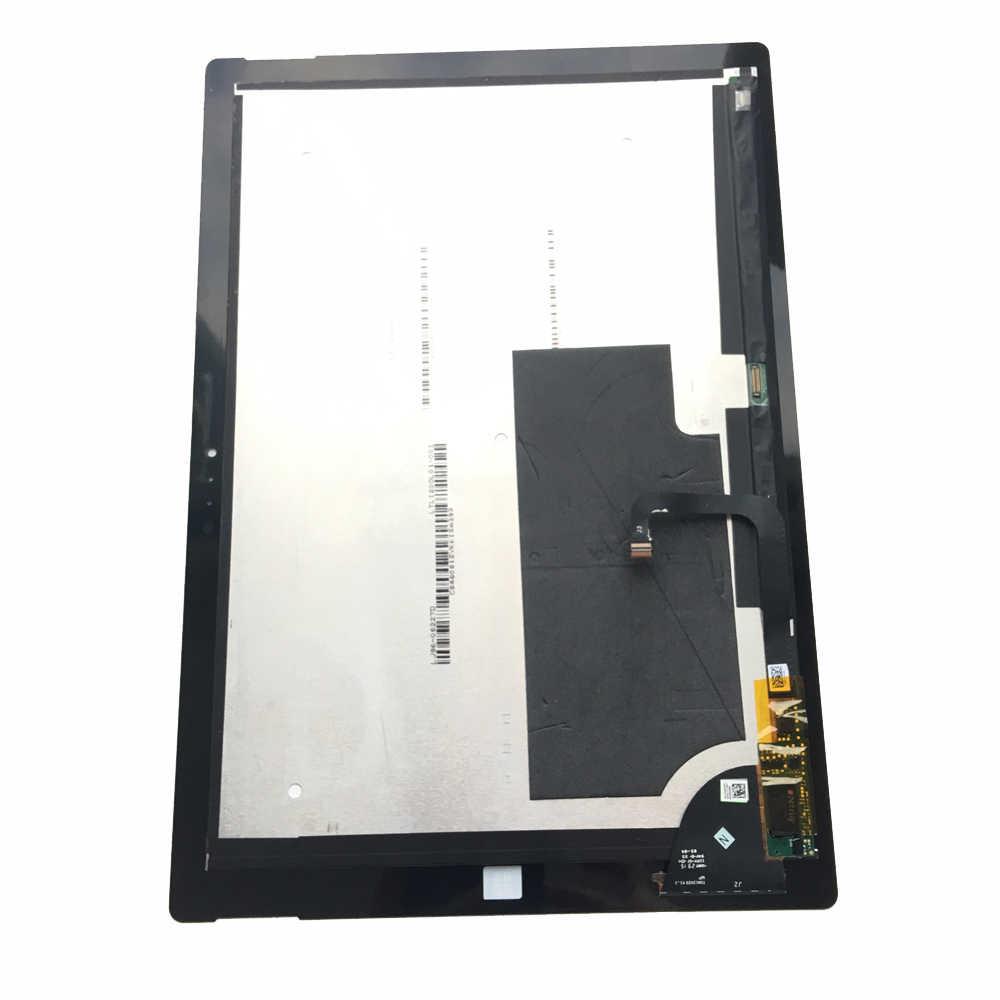 لمايكروسوفت السطح برو 3 (1631) TOM12H20 V1.1 LTL120QL01 003 شاشة الكريستال السائل محول الأرقام بشاشة تعمل بلمس لوحة الجمعية استبدال