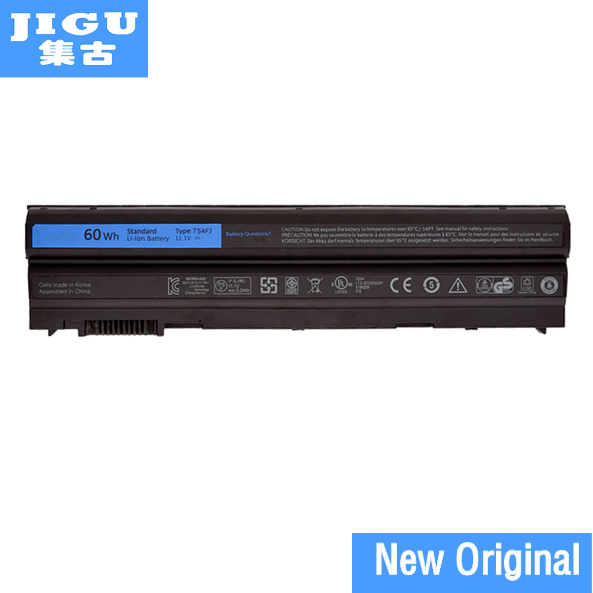 JIGU 60WH Original T54FJ Laptop Battery For DELL Latitude <font><b>E5420</b></font> E5430 E5520 E5530 E6420 E6430 E6520 T54F3 8858X 5525 5720 7420 image