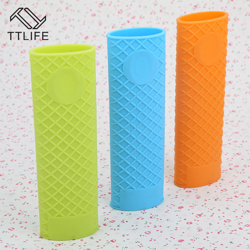 TTLIFE Hot Sale High Heat Kitchen Silicone Pot Pan Handle Mitts Cover Grip Saucepan Holder Sleeve Slip Case Cover Random Color