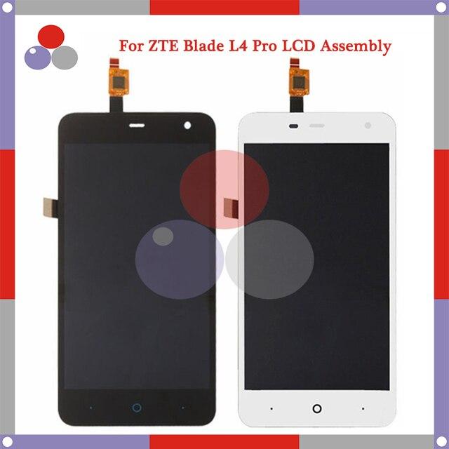 A mais alta qualidade para zte blade l4 pro a465 lcd screen display + touch screen digitador assembléia frete grátis