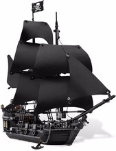 LEPIN 16006 The Black Pearl Building Blocks Kits Minifigures Bricks Toys Compatible Legoed 4148 Christmas Gifts Educational Toy