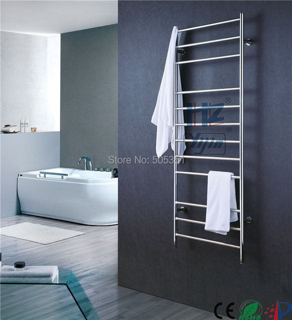big size stainless towel warmer heated towel rack Concealed/Exposed