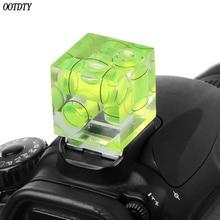 Один/два/трехмерный пузырьковый спиртовой уровень для камеры уровень адаптер для камеры s измерительные инструменты